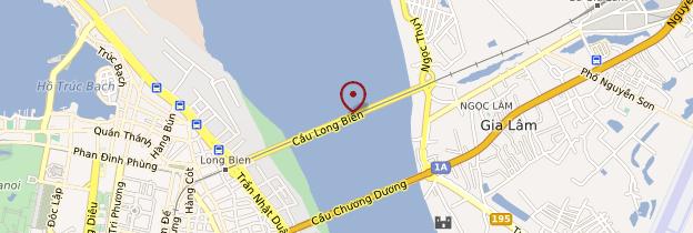 Carte Pont Long Biên  - Vietnam