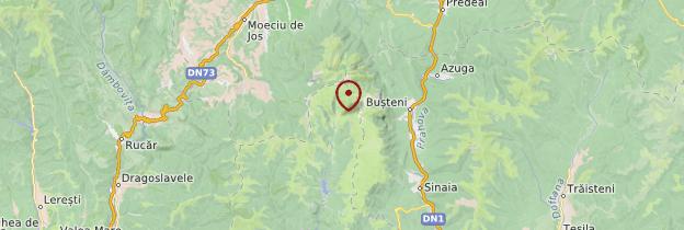 Carte Sphynx de Bucegi - Roumanie