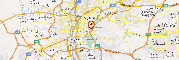 Carte La citadelle du Caire - Égypte