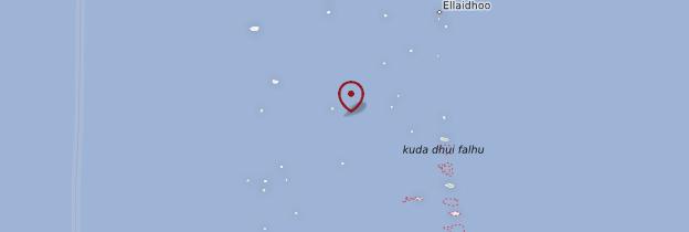 Carte Atoll d'Ari Sud - Maldives