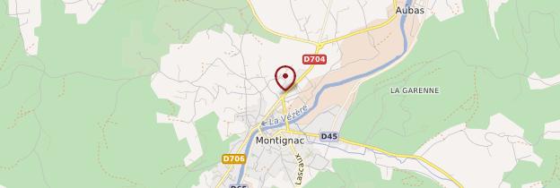 Carte Montignac - Périgord - Dordogne