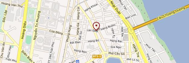 Carte Quartier des 36 rues et grand marché - Vietnam