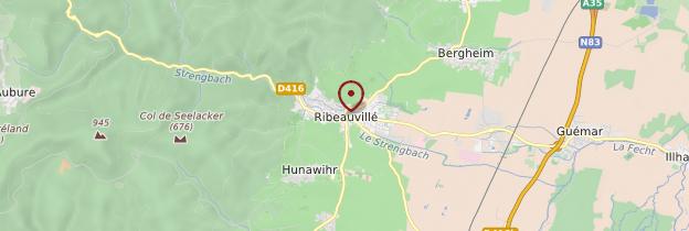 Carte Ribeauvillé - Alsace