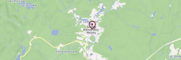 Carte Saint-Alexis-des-Monts - Québec