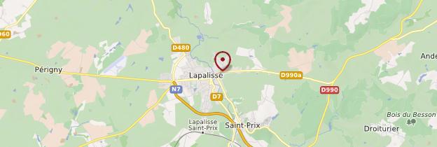 Carte Lapalisse - Auvergne