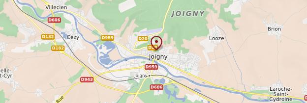 Carte Joigny - Bourgogne