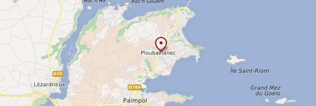 Carte Ploubazlanec (Plaeraneg) - Bretagne