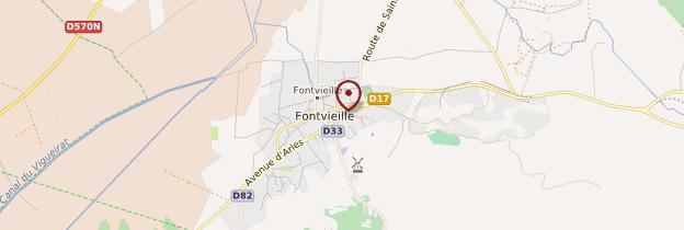 Carte Fontvieille - Provence