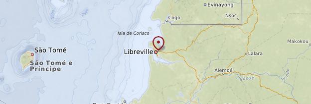 Carte Libreville - Gabon