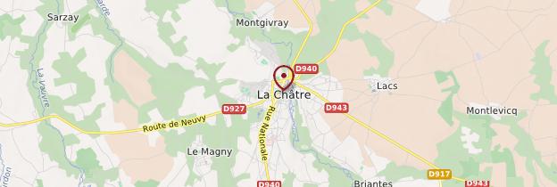 Carte La Châtre - Berry