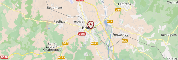 Carte Brioude - Auvergne