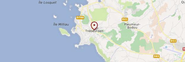Carte Trébeurden (Trebeurden) - Bretagne