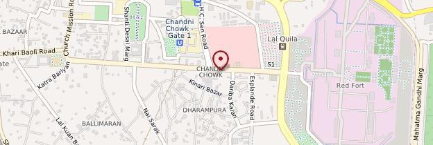 Carte Gurudwara Sis Ganj - Delhi