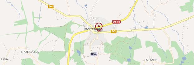 Carte Mortemart - Limousin