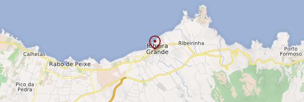 Carte Ribeira Grande - Açores