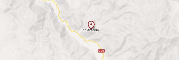 Carte San Antonio - Chili