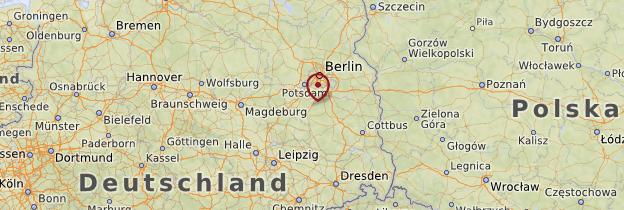 Carte Brandebourg - Allemagne