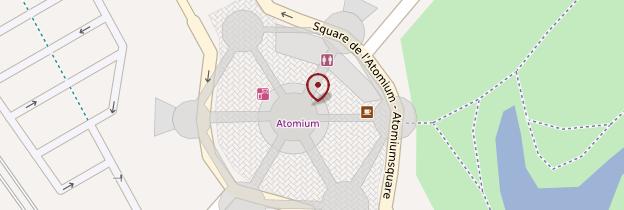 Carte Atomium - Bruxelles