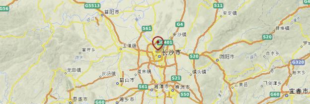 Carte Chine Hunan.Hunan Guide Et Photos Chine Routard Com