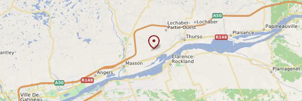 Carte Outaouais - Québec