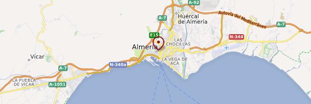 Carte Vera Andalousie.Region D Almeria Guide Et Photos Andalousie Routard Com