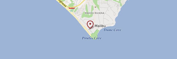 Carte Malibu - Los Angeles