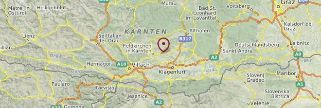 Carte Carinthie - Autriche