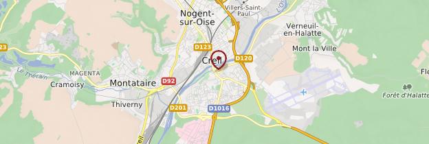 Carte Creil - Picardie