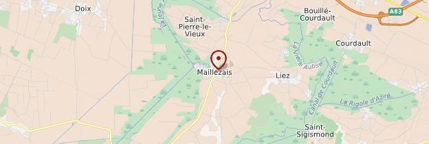 Carte Maillezais - Pays de la Loire