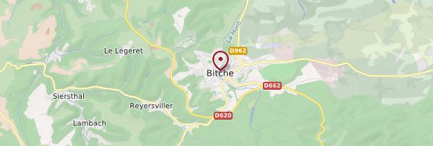 Carte Bitche - Lorraine