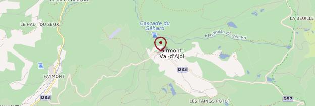 Carte Girmont-Val-d'Ajol - Lorraine