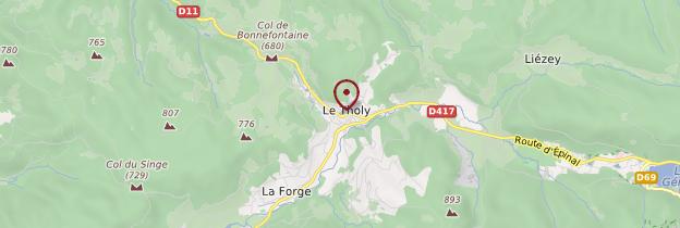 Carte Le Tholy - Lorraine