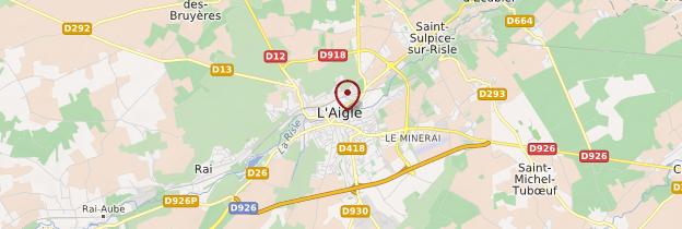 Carte L'Aigle - Normandie