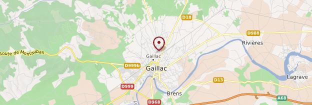 Carte Gaillac - Midi-Pyrénées