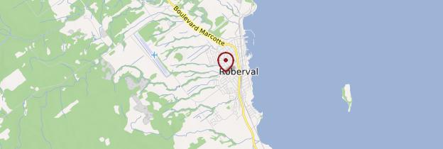 Carte Roberval - Québec