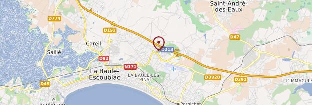 Carte La Baule - Pays de la Loire