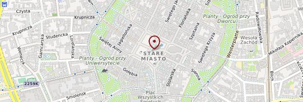 Carte Rynek Główny (Place du Marché) - Cracovie