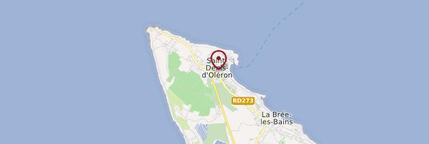 Carte  Saint-Denis-d'Oléron - Poitou, Charentes