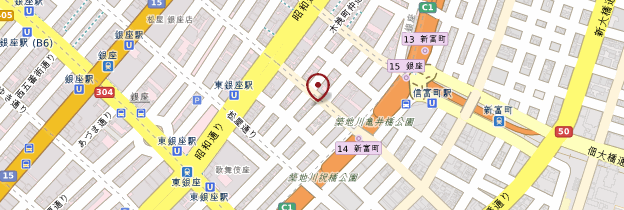 Carte Ginza - Tokyo