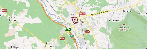 Carte Cavaillon - Provence