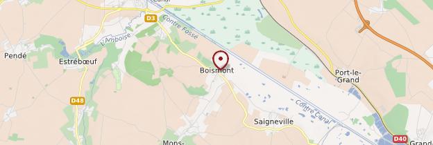 Carte Boismont - Picardie