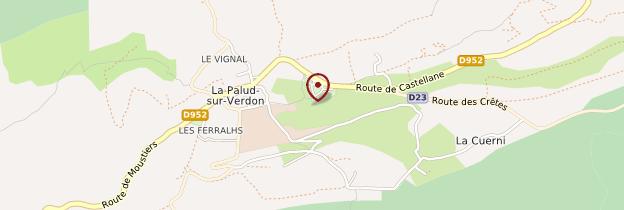 Carte La Palud-sur-Verdon - Provence