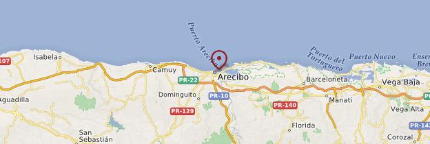 Carte Aceribo - Porto Rico