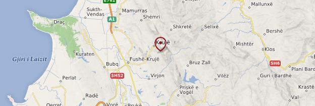 Carte Krujë - Albanie