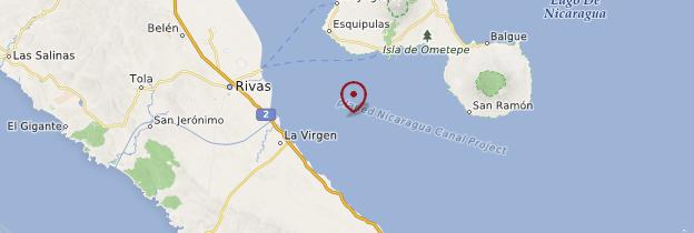 Carte Rivas - Nicaragua