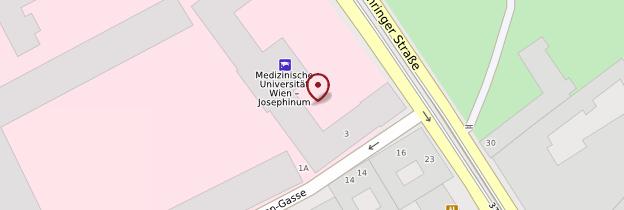 Carte Josephinum (Musée d'Histoire de la médecine) - Vienne