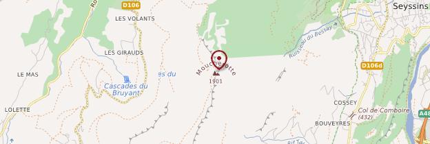 Carte Le Moucherotte - Alpes