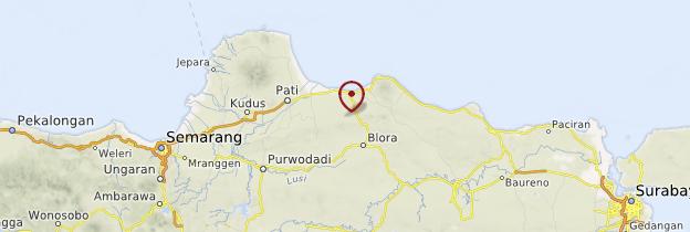 Carte Sempol - Indonésie