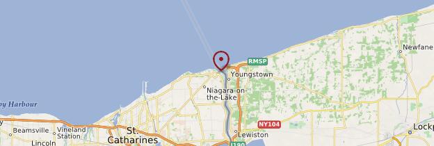 Carte Niagara-on-the-Lake - Canada