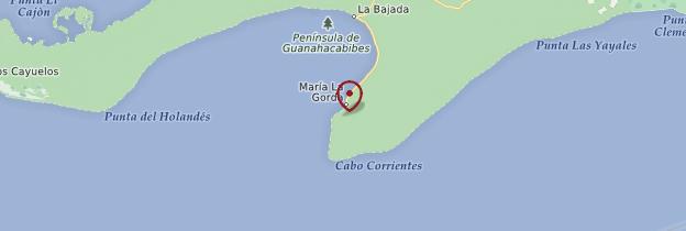 Carte María la Gorda - Cuba